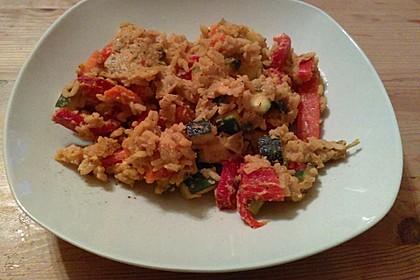 Tanjas gebratener Reis mit Gemüse 8