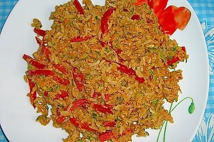 Tanjas gebratener Reis mit Gemüse 4