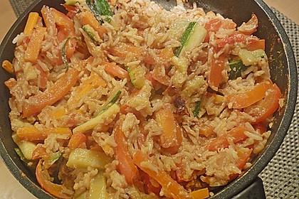 Tanjas gebratener Reis mit Gemüse 11