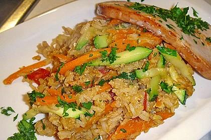 Tanjas gebratener Reis mit Gemüse 2