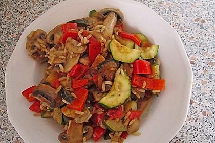 Tanjas gebratener Reis mit Gemüse 3
