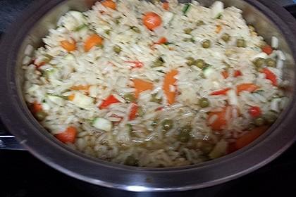 Tanjas gebratener Reis mit Gemüse 13