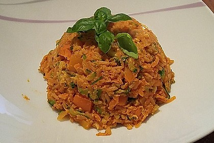 Tanjas gebratener Reis mit Gemüse 6
