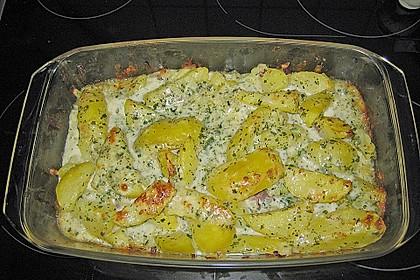 Kartoffelgratin alla Carbonara 3