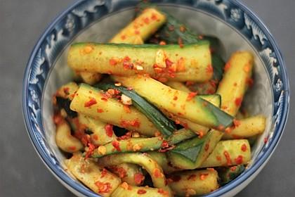 Gurken - Kimchi