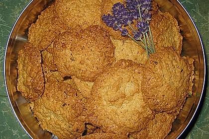 Lavendel - Haferflockenplätzchen 3
