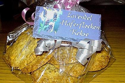 Lavendel - Haferflockenplätzchen 10