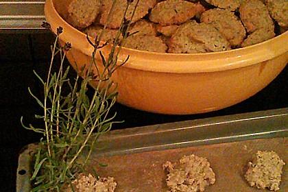 Lavendel - Haferflockenplätzchen 1