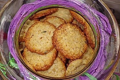 Lavendel - Haferflockenplätzchen 12