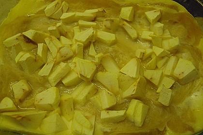 Quark - Lasagne mit Apfelmus 7
