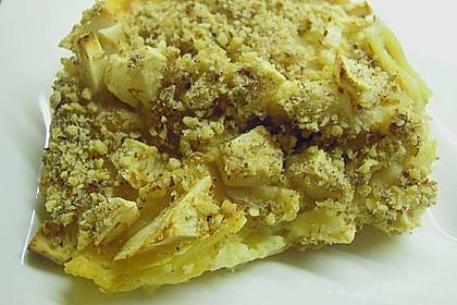 Quark - Lasagne mit Apfelmus 5