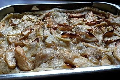 Quark - Lasagne mit Apfelmus 6