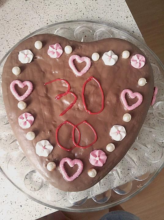 Schoko Herzkuchen Von Schokomauschen23 Chefkoch De