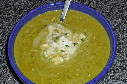 Erbsen - Sellerie - Suppe (Bild)
