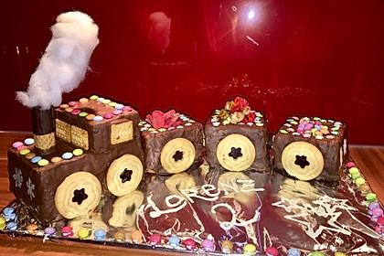 Schneller Zug - Kuchen (Bild)