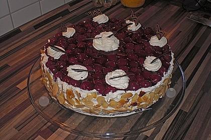 Kirsch - Nuss - Torte 1