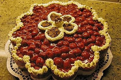 Kirsch - Nuss - Torte