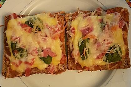 Pizza - Toast, kalorienarm 2