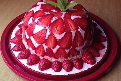 Erdbeer - Kuppeltorte à la Jessy 1