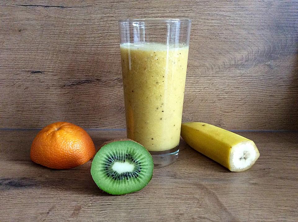 Banane Kiwi Smoothie Von Kerstin671 Chefkoch De