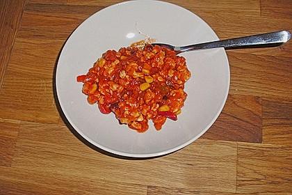 Chili con Carne aus Hähnchenhackfleisch 1