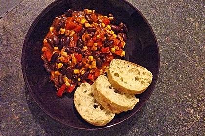 Chili con Carne aus Hähnchenhackfleisch