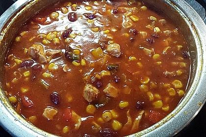 Chili con Carne aus Hähnchenhackfleisch 2