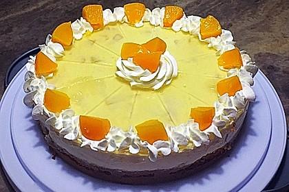 Pfirsich - Vanille - Torte 10