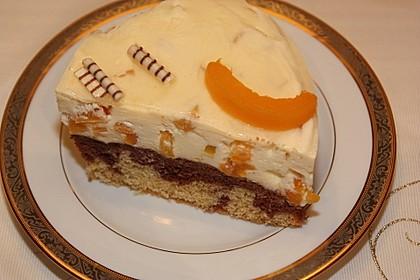 Pfirsich - Vanille - Torte 16
