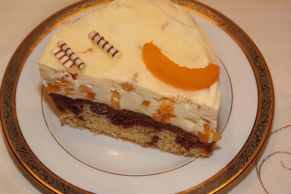 Pfirsich Vanille Torte Von Sandy07 Chefkoch De