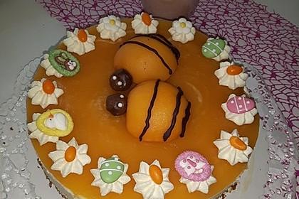 Pfirsich - Vanille - Torte 2