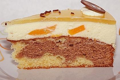 Pfirsich - Vanille - Torte 4
