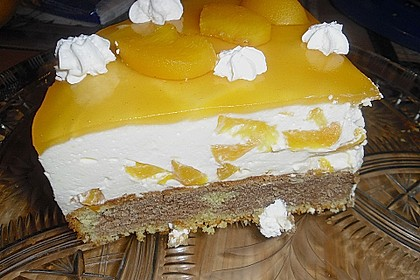 Pfirsich - Vanille - Torte 18