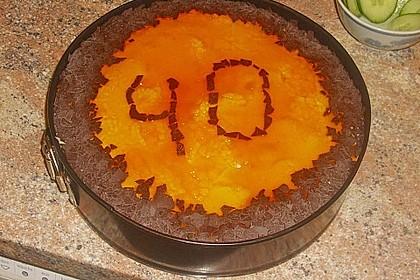 Pfirsich - Vanille - Torte 21