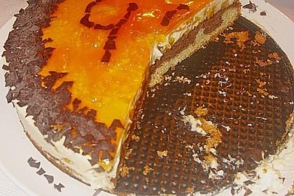 Pfirsich - Vanille - Torte 34