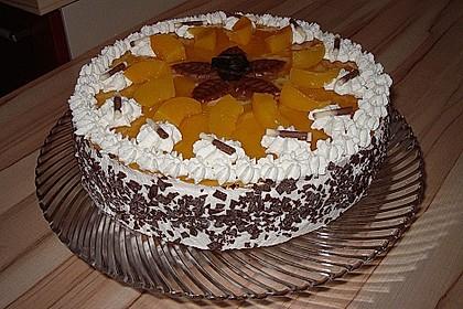 Pfirsich - Vanille - Torte 9
