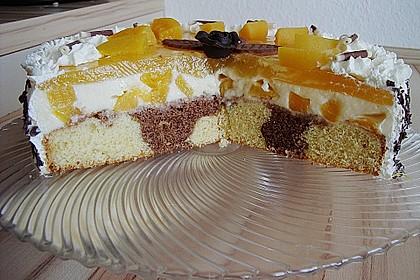 Pfirsich - Vanille - Torte 5