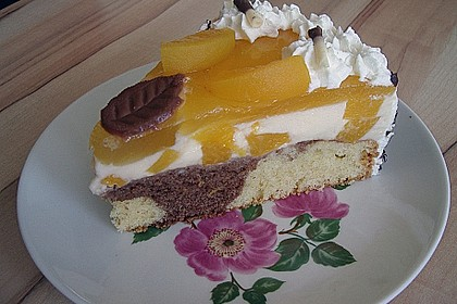 Pfirsich - Vanille - Torte 7