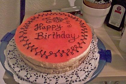 Pfirsich - Vanille - Torte 28