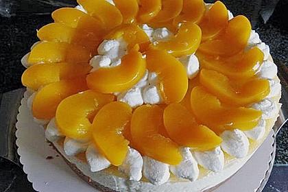 Pfirsich - Vanille - Torte 13