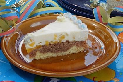 Pfirsich - Vanille - Torte 32
