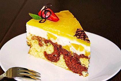 Pfirsich - Vanille - Torte 8