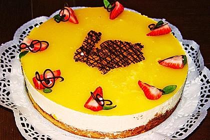 Pfirsich - Vanille - Torte 3