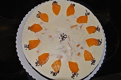 Pfirsich - Vanille - Torte 12