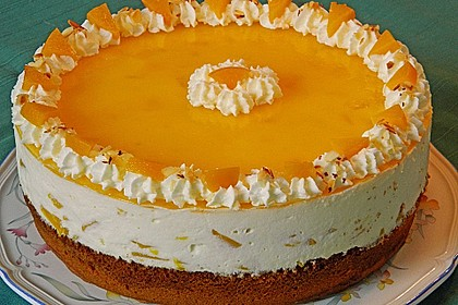 Pfirsich - Vanille - Torte