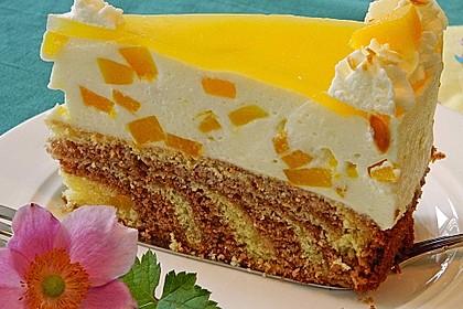 Pfirsich - Vanille - Torte 1