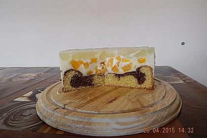 Pfirsich - Vanille - Torte 22