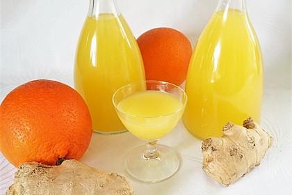 Ingwer - Orangen - Likör 4