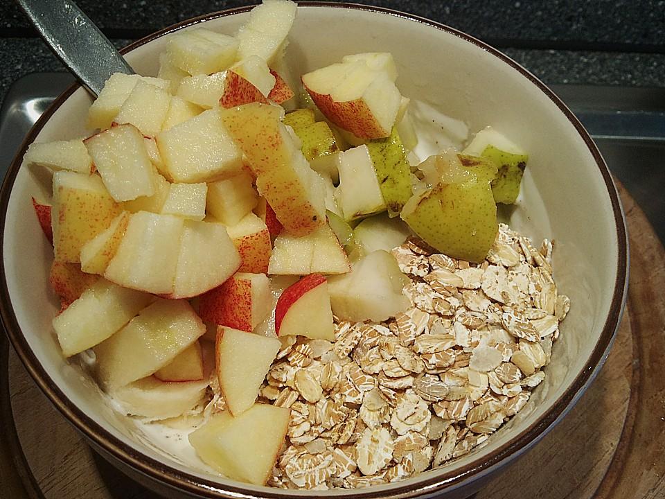 Fruchtiger Joghurt Mit Haferflocken Chefkoch