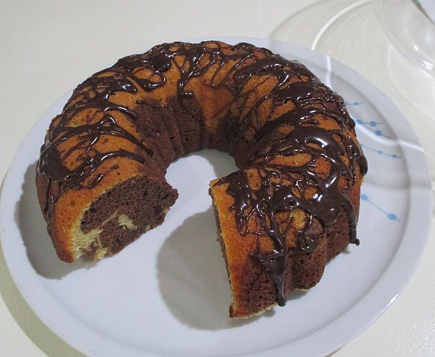 Angies Saftiger Marmorkuchen Ein Schmackhaftes Rezept Chefkoch De
